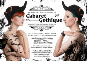 Special portraiture for Cabaret Gothique