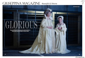 Elizabethan themed editorial published in Giuseppina magazine