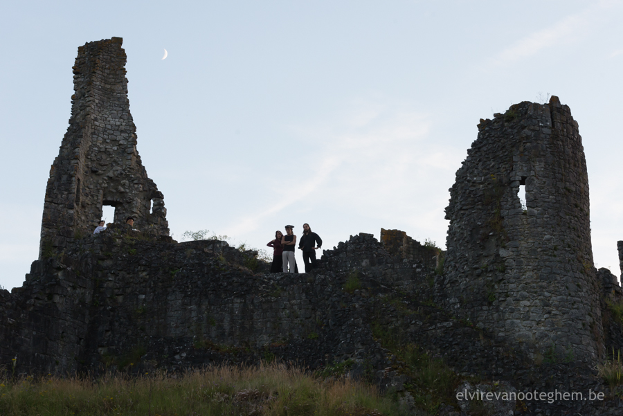 wedding photography magical fairytale ruins rituals